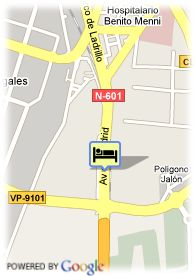 map-Hotel Foxa Valladolid