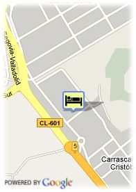 map-Hotel Topacio