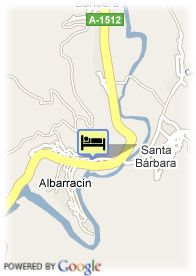 map-Hotel Albarracin