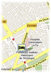 map-Hotel Expo Valencia