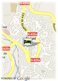 map-Hotel Torico Plaza