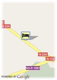 map-Hotel Cadosa