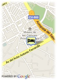 map-Express by Holiday Inn Ciudad de las Ciencias