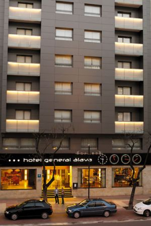 Hotel General Alava in Vitoria - Gasteiz