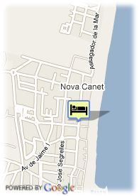 map-Hotel AGH Canet