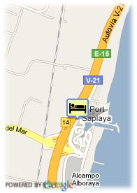 map-Aptos. Port Saplaya