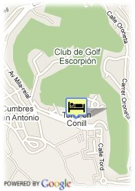 map-Hotel Valencia Golf
