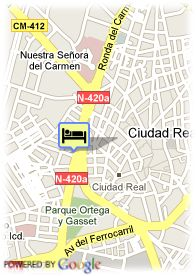 map-Hotel Guadiana