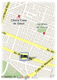 map-Hotel Valencia Center