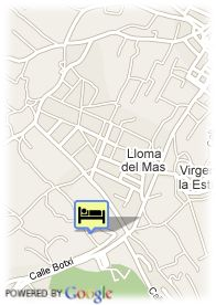 map-Hotel La Calderona Spa-Sport & Resort