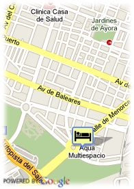 map-Hotel Confortel Aqua 3