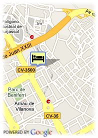 map-Hotel Sorolla Palace