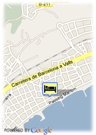 map-Hotel Antemare and Spa