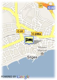 map-Hotel Central Normandie