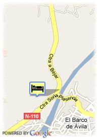 map-Hotel Real De Barco