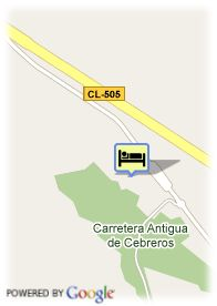 map-Fontecruz Avila Golf Hotel