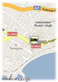 map-Hotel Husa Imperial Tarraco