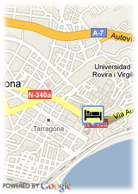 map-Hotel Imperial Tarraco