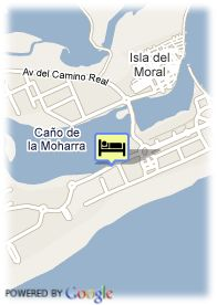 map-Hotel Playa Canela