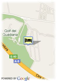 map-Hotel Confortel Badajoz