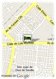 map-Hotel Medium Virgen De Los Reyes