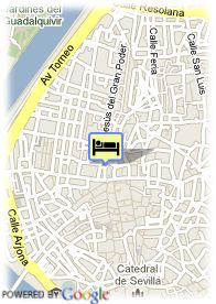 map-Hotel Derby Sevilla