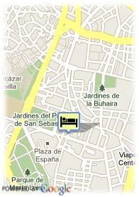map-Hotel Pasarela