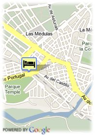 map-Temple Ponferrada