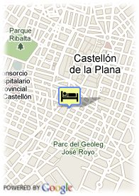 map-Hotel Intur Castellon