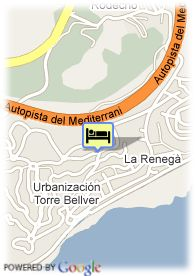 map-Apart. Marina D'Or 1a Linea