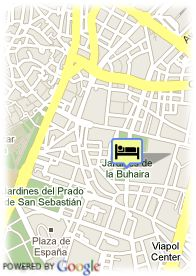 map-Hotel Sevilla Center