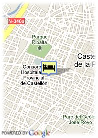 map-Hotel Vincci Castellon Center