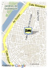 map-Hotel Casa Romana Boutique