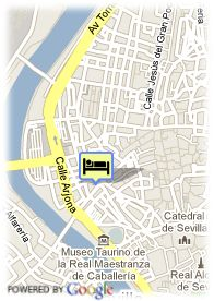 map-Hotel Confortel Puerta De Triana