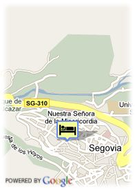 map-Hotel Infanta Isabel