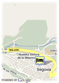map-Hotel Palacio San Facundo