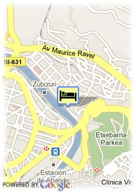 map-Hotel Barcelo Nervion
