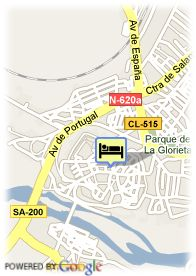 map-Hotel Hospederia Audiencia Real