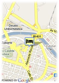 map-Silken Gran Hotel Domine