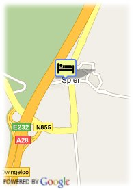 map-Best Western Hotel De Woudzoom