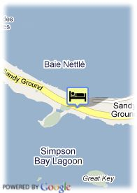 map-Anse des Sables Residence