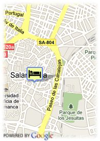 map-Hotel Plaza Del Angel