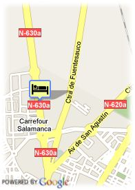 map-Hotel Recoletos Coco