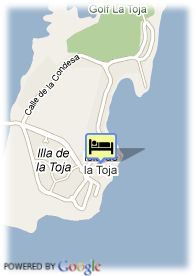 map-Hotel Louxo