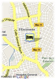 map-Hotel Abelux