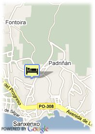 map-Hotel Augusta Spa Resort