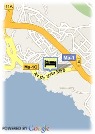 map-Hotel Mirablau