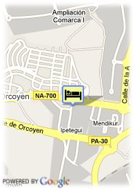 map-Hotel Andia