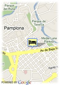 map-Hotel Leyre