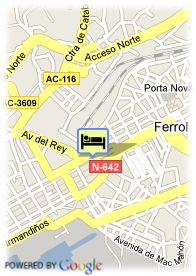 map-Hotel Almirante